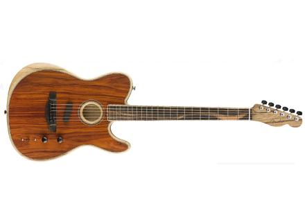 Fender Acoustasonic Telecaster Cocobolo