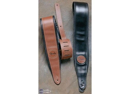 Fender Deluxe Wide Padded Leather Strap