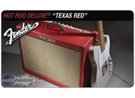 Fender Hot Rod Deluxe - Texas Red & Celestion Vintage 30 Limited Edition