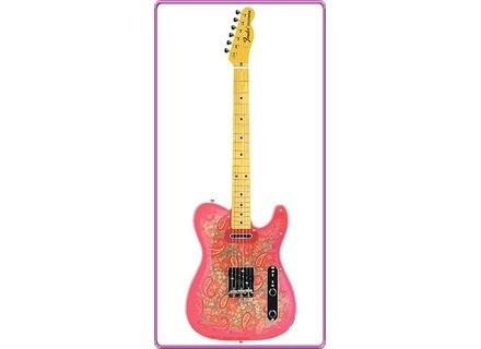 fender telecaster pink paisley audiofanzine. Black Bedroom Furniture Sets. Home Design Ideas