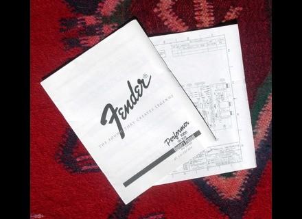Fender Manuels - Modes d'emploi - Notices