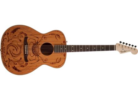 """Fender Melanie Steinway """"Tribal Ocean"""" Newporter"""