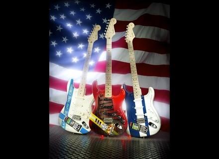 Fender New York Fire Department Stratocaster