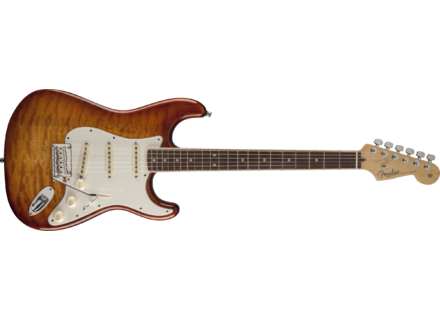 Fender Select Stratocaster Exotic Maple Quilt