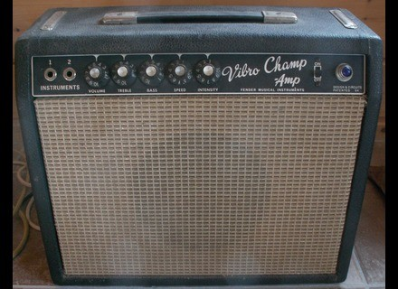 "Fender Vibro Champ ""Blackface"" [1964-1967]"
