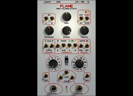 Flame Audio Midi Talking Synth