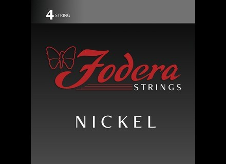 Fodera Guitars Nickel Bass Strings