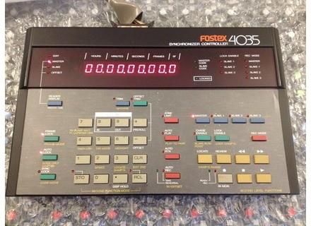 Fostex 4035 Synchronizer Controller