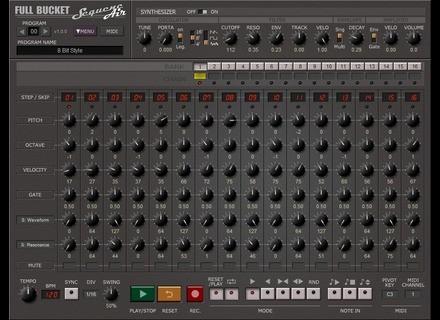 Full Bucket Music SequencAir