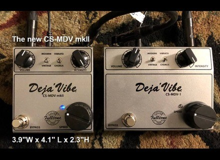 Fulltone Custom Shop Mini DejáVibe CS-MDV MKII