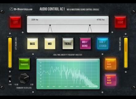G-Sonique Audio Control AC1