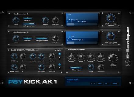 G-Sonique PsyKick AK1