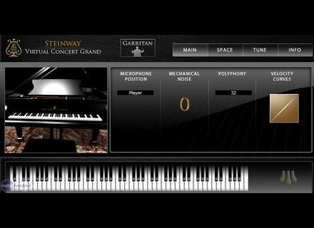 Garritan Authorized Steinway Virtual Concert Grand Piano - Basic Edition