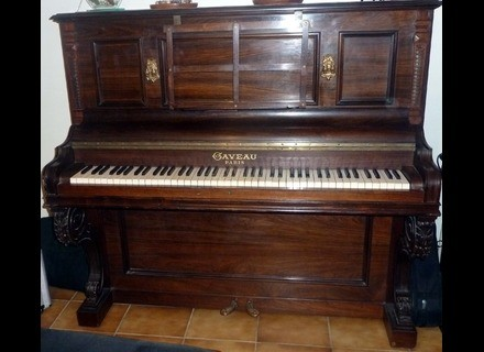 Gaveau Piano Droit