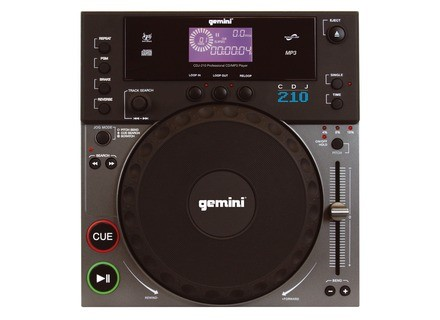 Gemini DJ CDJ-210