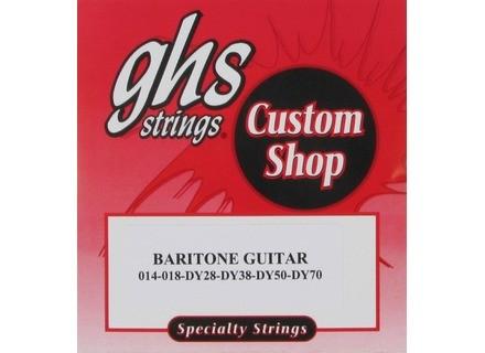 GHS Custom Shop Baritone Guitar 14-70