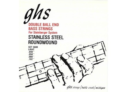 Steinberger GHS 5600 Double Ball End Roundwound Bass Strings 40-102