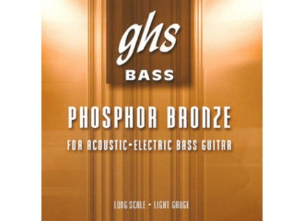 "GHS Phosphor Bronze Short Scale (32.75"" winding)"