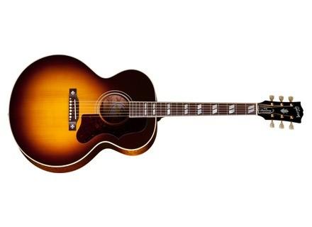 Gibson 60th Anniversary J-185 Quilt Custom - Vintage Sunburst