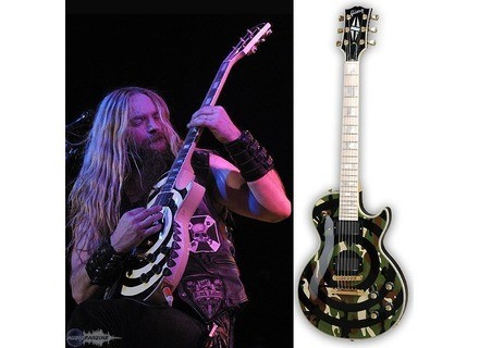 Gibson Custom Shop - Zakk Wylde Camo Les Paul