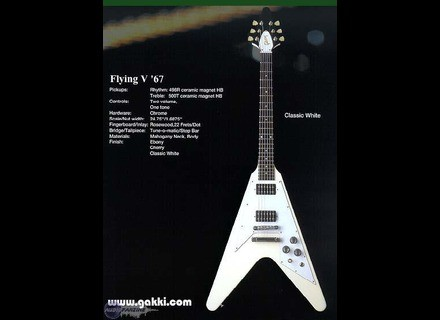 Gibson Flying V '67 Reissue - Classic White