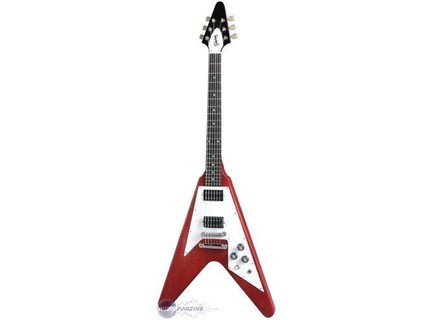 Gibson Flying V Faded - Worn Cherry