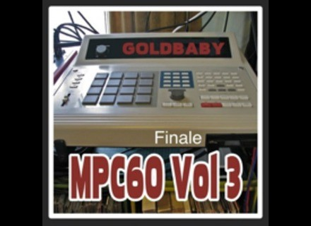 Goldbaby Productions MPC60 Vol. 3