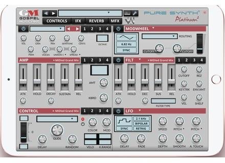 Gospel Musicians Pure Synth Platinum 2 App