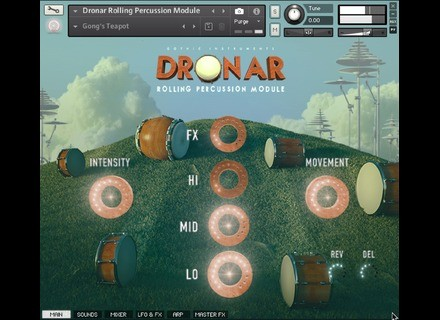 Gothic Instruments Dronar Rolling Percussion