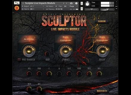 Gothic Instruments SCULPTOR Live Impacts Module