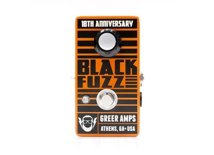 Greer Amplification Black Fuzz 18th Anniversary