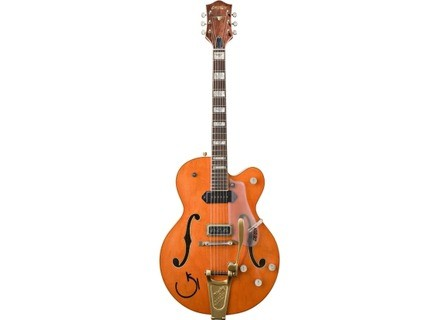 Gretsch G6120EC Eddie Cochran Tribute Hollow Body - Vintage Orange Lacquer