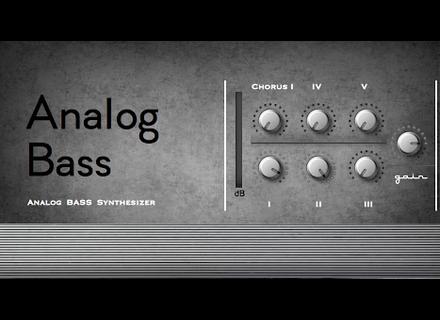 Greynote Music Analog Bass M01