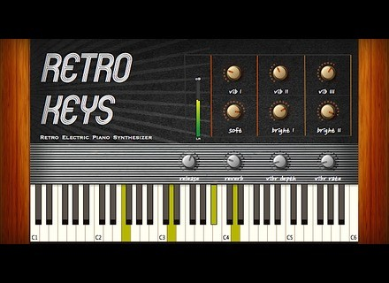Greynote Music Retro Keys