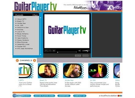 Guitar Player TV Lancement de Guitar Player TV