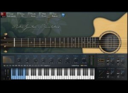 H.E. Audio Poetic Guitar-Rainlotus (PGR)