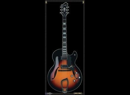 Hagstrom HJ-800 - 3-Tone Sunburst
