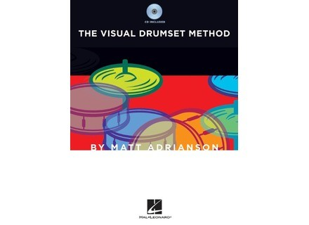 Hal Leonard The Visual Drumset Method