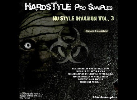 Hardsamples Nu Style Invasion Vol. 3 - Demons Unleashed