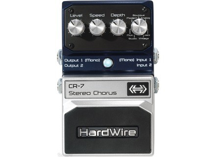 HardWire Pedals CR-7 Stereo Chorus