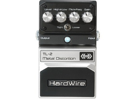 HardWire Pedals TL-2 Metal Distortion