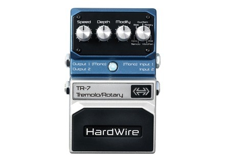 HardWire Pedals TR-7 Tremolo/Rotary Pedal