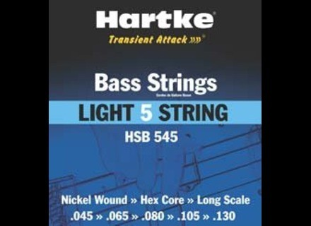 Hartke HSB545 - Light 5-string 45-130