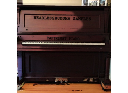 HeadlessBuddha Samples Taperight Piano Bundle