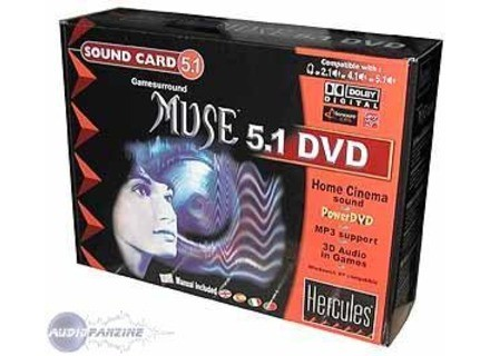 HERCULES SOUND CARD MUSE 5.1 DVD DRIVERS FOR WINDOWS XP