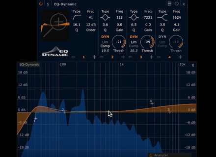 HOFA Plugins EQ-Dynamic