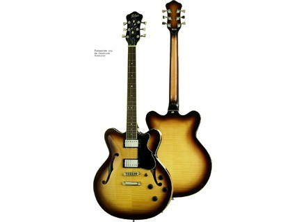 Hofner Guitars Verythin CT - Antique Brown Sunburst