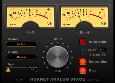 Hornet Plugins AnalogStage