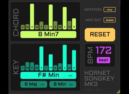 Hornet Plugins SongKey mk3