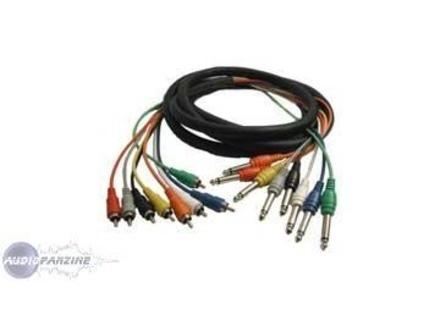 Hosa CRA803 Octo RCA / RCA 3m